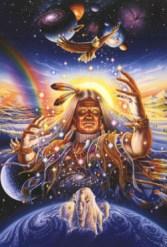 Появление шаманов не случайно - это желание богов помочь и защитить человечество.