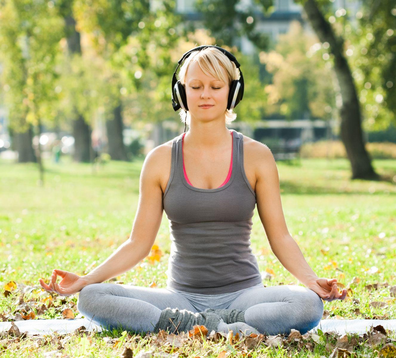 Медитация с музыкой