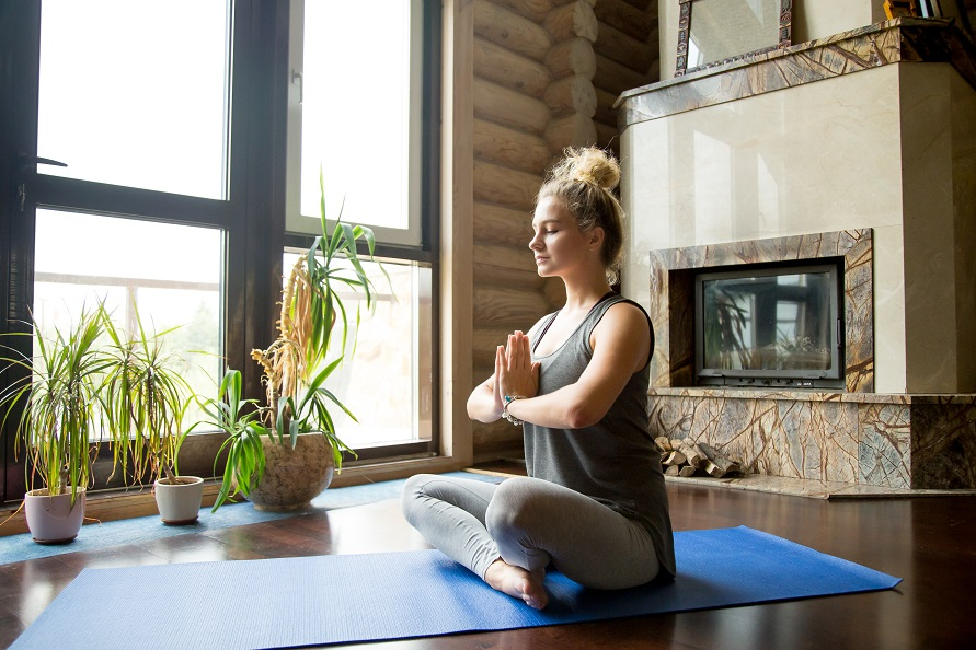 Обстановка при медитации
