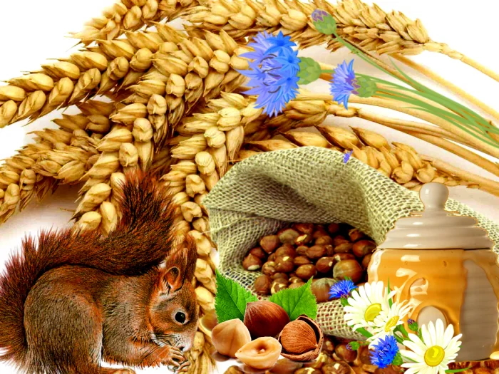 Ореховый хлебный спас