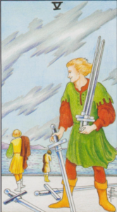 Пятерка мечей
