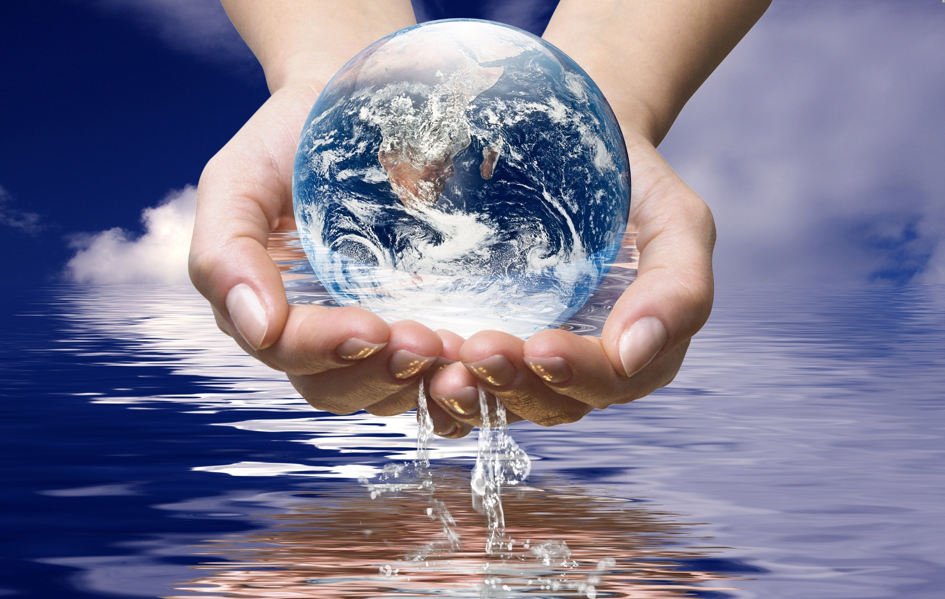 Вода и земля