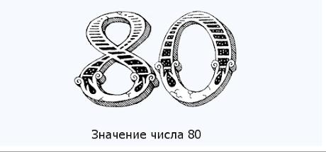Число восемьдесят