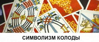 символизм на картах