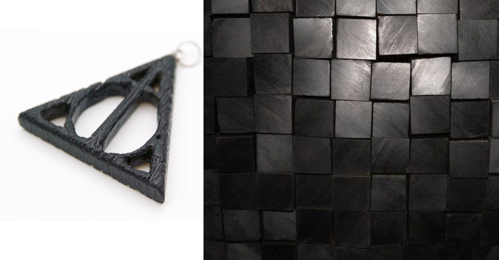 Талисман-подвеска из чёрного граба