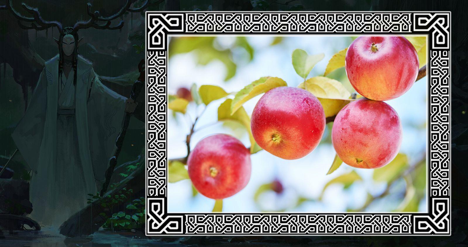 Яблоня в гороскопе друидов
